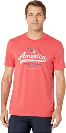 Heather Americana Red