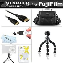 Starter Accessories Kit For The Fuji Fujifilm Finepix S8200 S8300 S8400 S8500, S6800, S8600, S9200, S9400W, S9800, S9900W Digital Camera Includes Deluxe Case + Flexible Tripod + Mini HDMI Cable + More