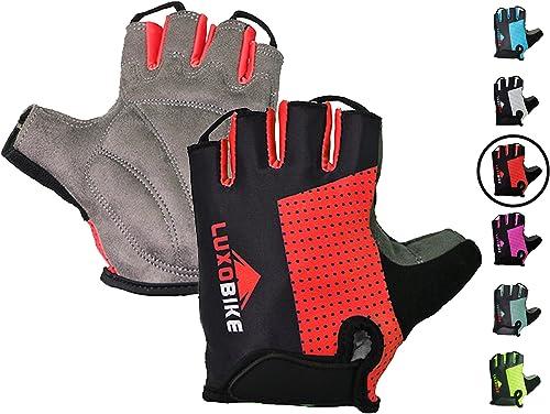 Giro Bravo Gel Half Fingers Cycling Gloves-Variation Size on sale