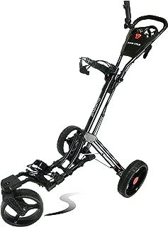 Swerve Founders Club 360 Swivel Wheel Qwik Fold Golf Push Cart