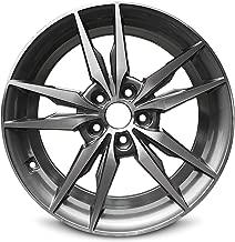 Road Ready Car Wheel For 2015-2017 Hyundai Sonata 18 Inch 5 Lug Gun Metal Machine Cut Face Aluminum Rim Fits R18 Tire - Exact OEM Replacement - Full-Size Spare