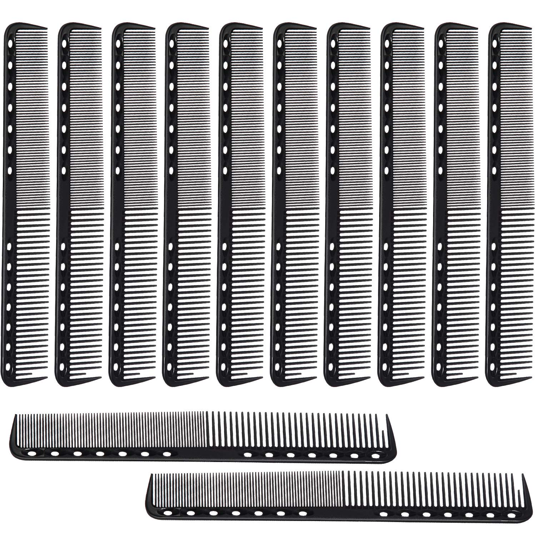 12 Pieces Carbon Fine Max 48% OFF Cutting Hairdressi Salon Fiber 35% OFF Comb