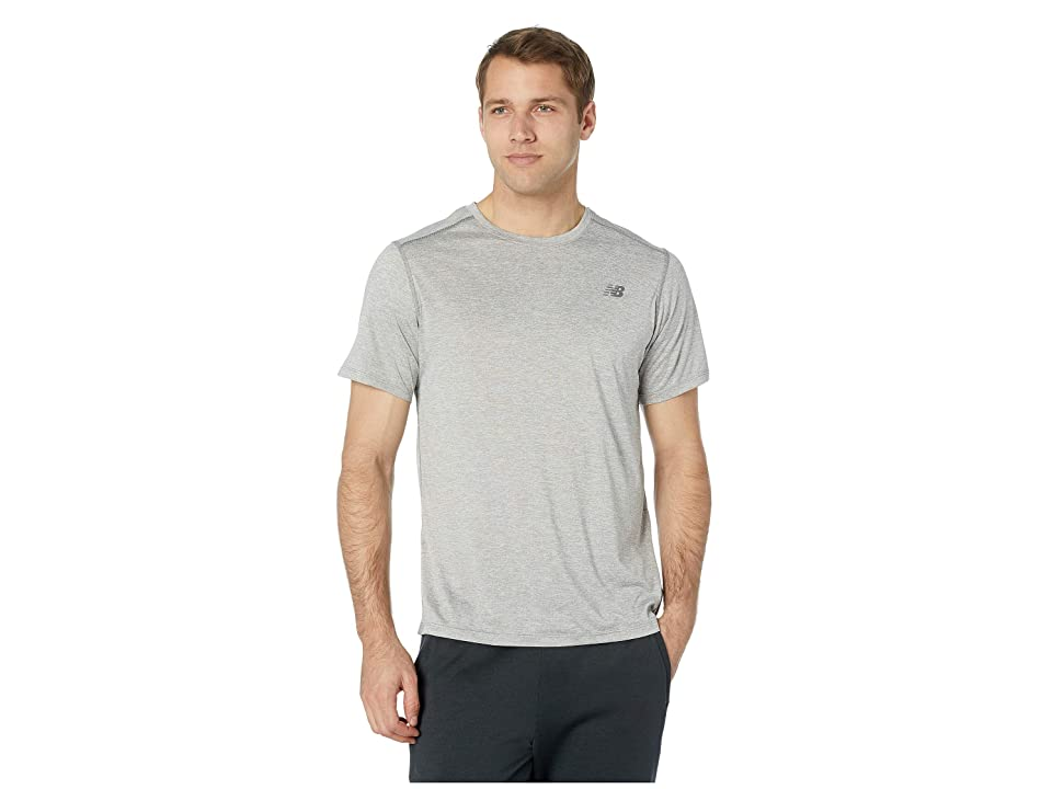 New Balance Core Heathered Tee (Athletic Grey) Men