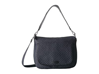 Vera Bradley Carson Shoulder Bag (Denim Navy) Shoulder Handbags