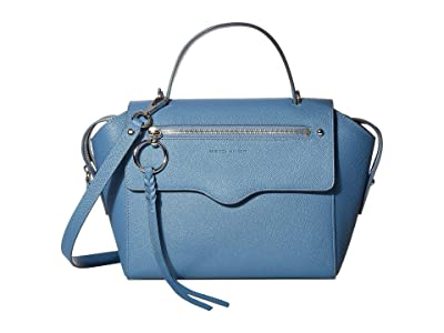 Rebecca Minkoff Gabby Satchel (Cement Blue) Handbags