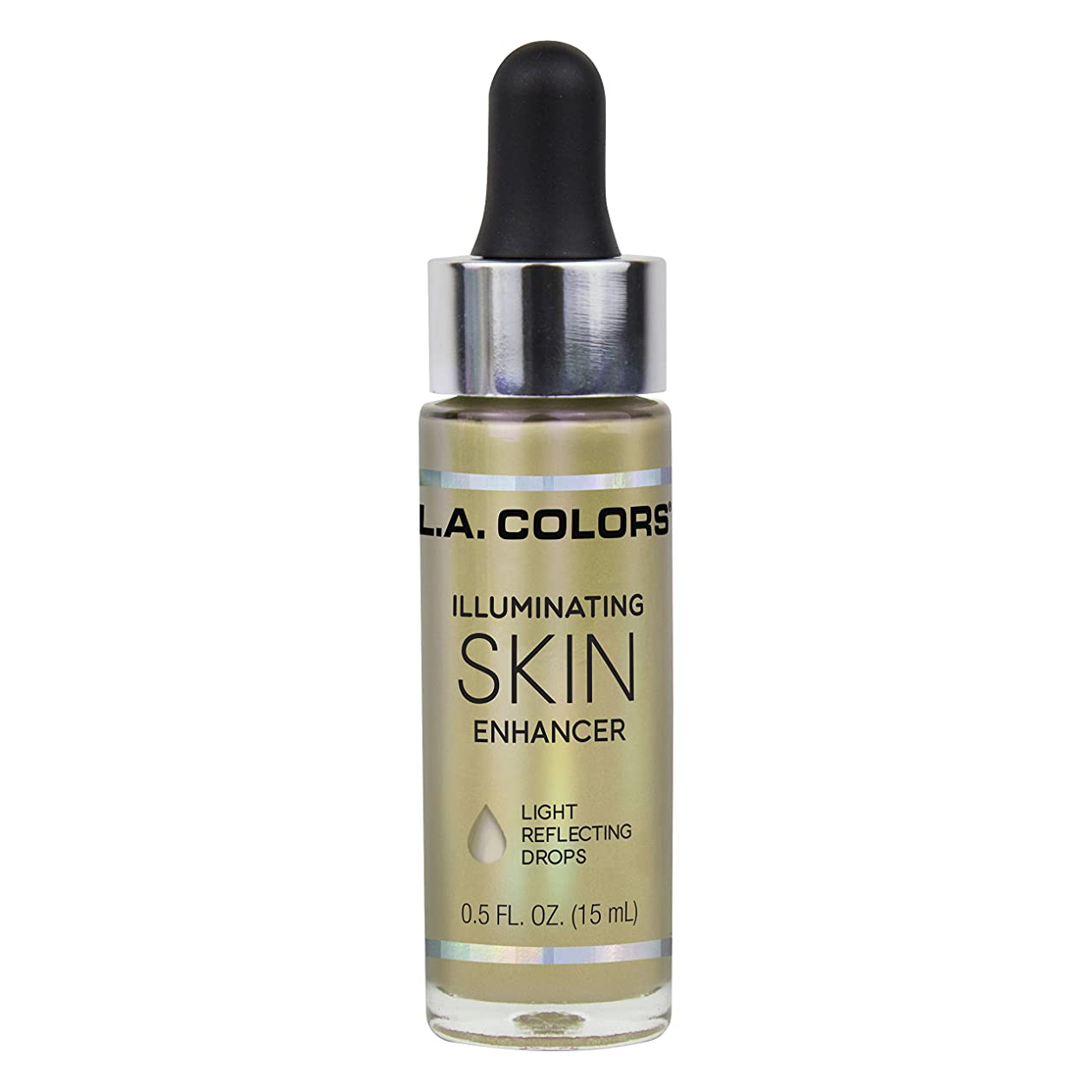 悪性腫瘍対話後世L.A. COLORS Illuminating Skin Enhancer - Liquid Gold (並行輸入品)