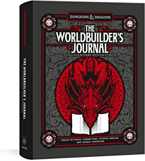 The Worldbuilder's Journal of Legendary Adventures (Dungeons & Dragons): Create Mythical Characters, Storied Worlds, and Unique Campaigns
