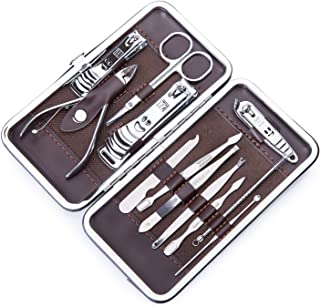 Corewill Nail Clippers Kit, Personal Manicure and Pedicure Set for Travel and Grooming 12 in 1