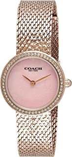 COACH HAYLEY WOMEN's PINK MOTHER OF PEARL DIAL WATCH - 14503438