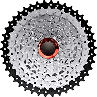 8 Speed Cassette 11-42T MTB Cassette 8 Speed Fit for Mountain Bike, Road Bicycle, MTB, BMX, SRAM, Shimano