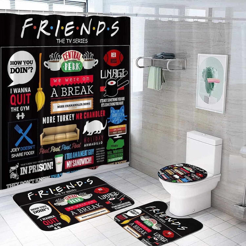 20. Friends  Bathroom Décor Set
