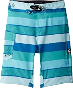 Magnetic Liney Mod Boardshorts (Big Kids)