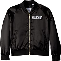 Moschino Kids - Jacket w/ Sequin Teddy Bear on Back (Little Kids/Big Kids)