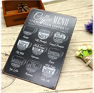 Best coffee menu wall art Reviews