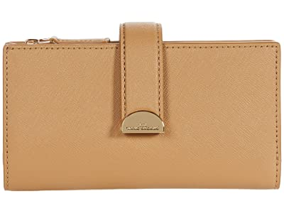 Marc Jacobs Half Moon Medium Wallet (Dirty Chai) Wallet Handbags