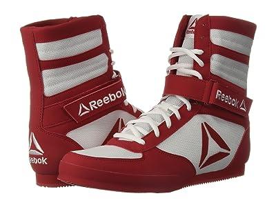 Reebok Reebok Boxing Boot Buck (White/Excellent Red) Men