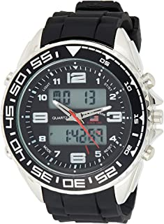 U.S. Polo Assn. Sport Men's US9043 Analog-Digital Display Analog Quartz Black Watch