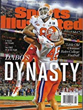 Clemson Sports Illustrated 2019 - Special Championship Commemorative Issue - Clemson Wins College Football Playoffs - 2018-2019 National Champions - Dabos Dynasty - Lawrence, Ross, Wilkins