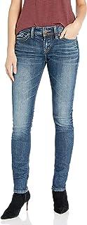 Women's Elyse Curvy Mid Rise Skinny Fit Jean