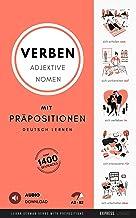 Deutsch Lernen - Verben, Adjektive und Nomen mit Präpositionen: Learn German Verbs, Adjectives and Nouns with Prepositions...