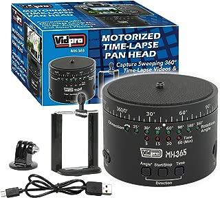 Vidpro MH-365 Motorized Time-Lapse Pan Head