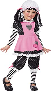 California Costumes Rag Dolly Toddler Costume, 4-6