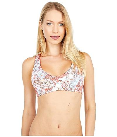 Carve Designs La Jolla Reversible Bikini Top (Lily/Rosella) Women