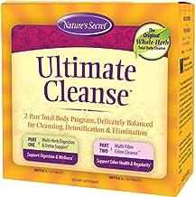 Ultimate Cleanse by Nature's Secret | Cleansing, Detoxification & Elimination, Two 120 Tablet Bottles