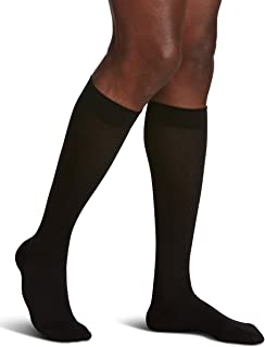 SIGVARIS Men's SEA Island Cotton 191 Calf High Compression Socks 15-20mmHg