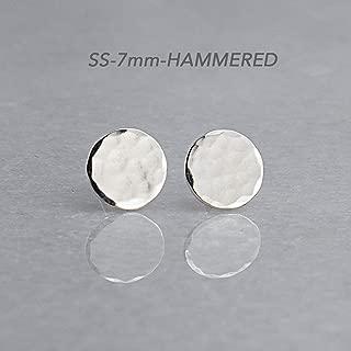 Best hammered silver stud earrings Reviews