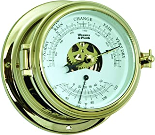 Weems and Plath Endurance II 115 Barometer/Thermometer Brass