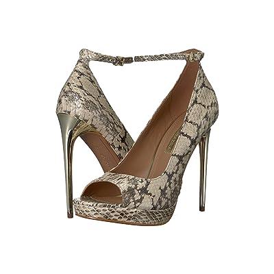 BCBGeneration BCBGMaxazria Becky (Natural Snake) High Heels