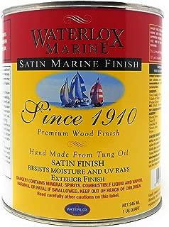 waterlox polyurethane