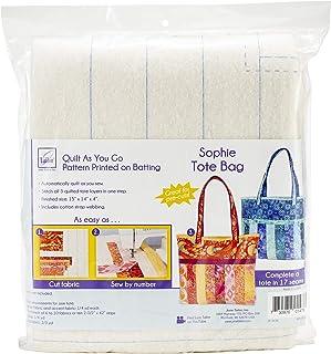 June Tailor JT-1476 Quilt As/Go Sophie Tote Bag None