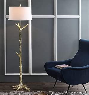Safavieh FLL4019A Lighting Collection Thornton Gold Floor Lamp,