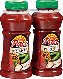 A Product of Pace Picante Sauce Mild (38 oz., 2 ct.)
