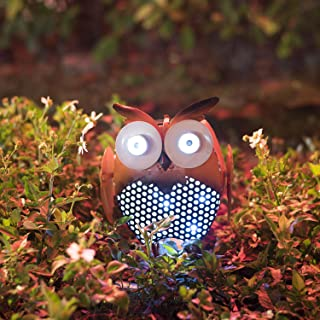 Doingart Garden Solar Lights Outdoor,Solar Powered Light Owl Light Decorative Garden Lights for Walkway,Pathway,Yard,Lawn