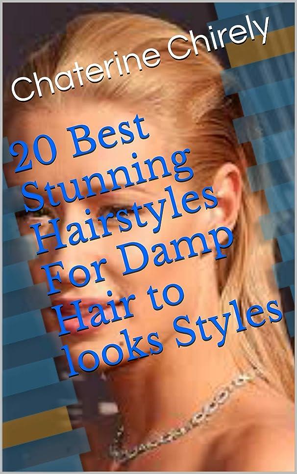 ルビージャンクション依存する20 Best Stunning Hairstyles For Damp Hair to looks Styles (English Edition)