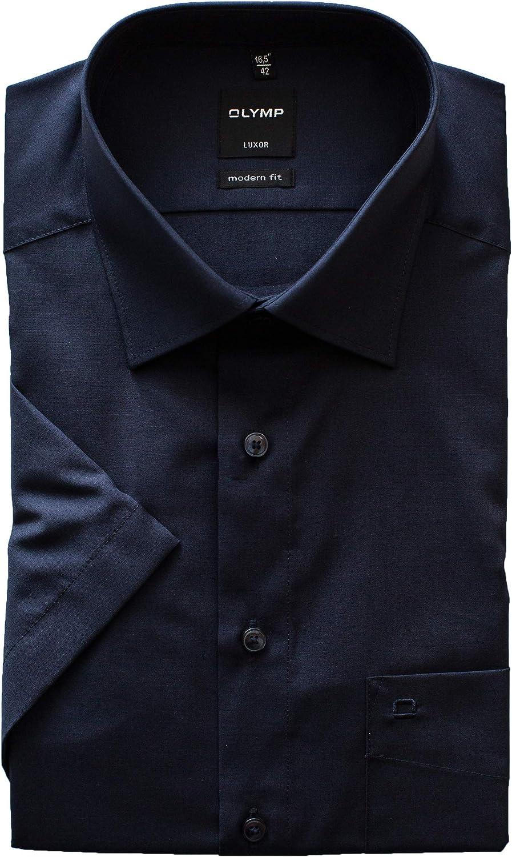 Olymp Modern Fit Camisa de manga corta para hombre