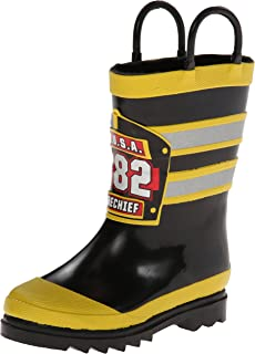 Western Chief Boy's F.D.U.S.A. Firechief Rain Boots