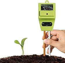 XLUX Soil Tester Meter, 3-in-1 Test Kit for Moisture, Light & pH, for Home and..