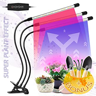 LED Grow Light for Indoor Plants - Lamps IR & UV Red and Blue Spectrum for Plant Succulents, Micro Greens, Seedlings - 60W...