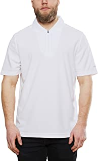 Craft Men's Zipped Polo Shirt - Moisture Wicking, Dry Fit Golf T Shirts for Men