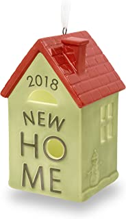 Hallmark Keepsake Christmas Ornament 2018 Year Dated New First Home Homeowner Gift Ceramic