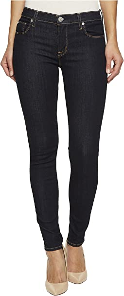 Hudson - Nico Mid-Rise Super Skinny Jeans in Infuse