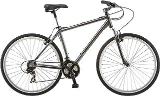 Schwinn Capital 700c Bicicleta híbrida para Hombre, tamaño de Marco Medio, Color Gris