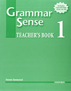 Grammar Sense 1 Teacher's Book with Tests CD