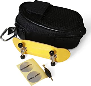 UpgradeWith Finger Skateboard | Mini Kids Skateboard Deck Training Toy | DIY Assemble Material | Comes with Bag | Size: 34mm