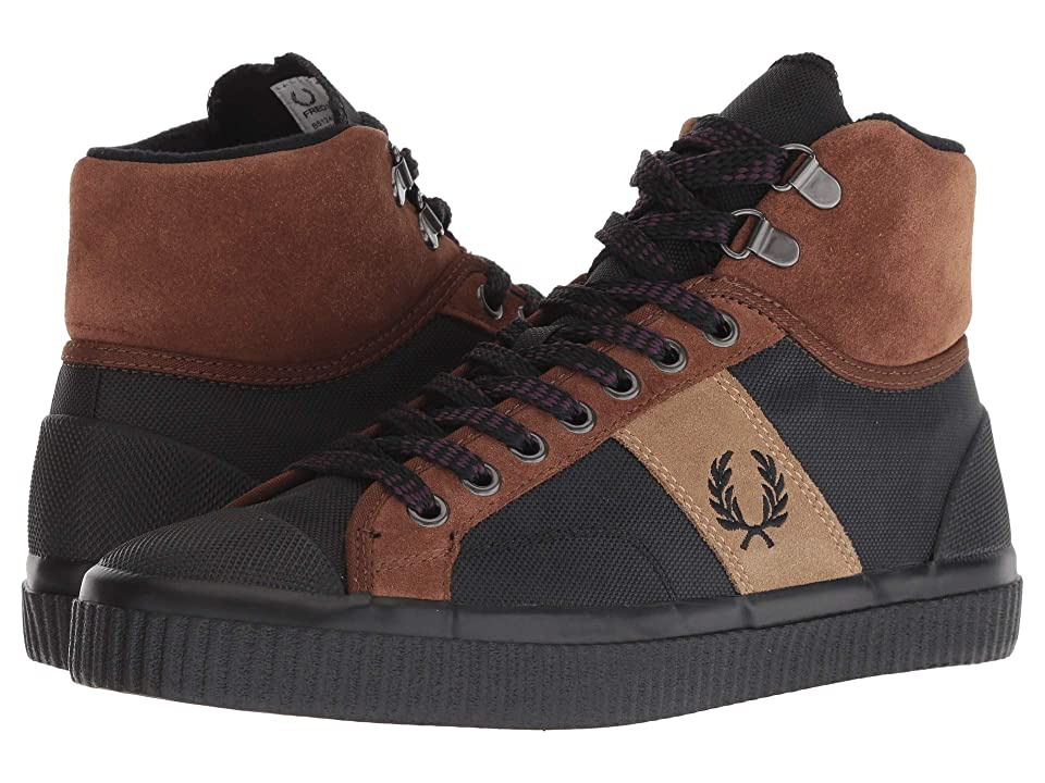 Fred Perry Hughes (Havana Brown/Black) Men