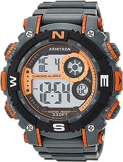 ساعة كرونوجراف رقمية رياضية للرجال موديل 40/8284 من ارمترون سبورت